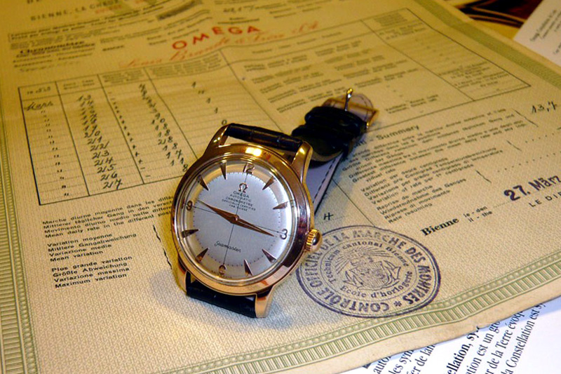 1951, chronomètre & chronomètre OmegaSemasterChronometer01