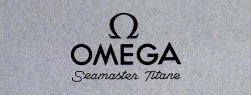 L'Omega Seamaster Titane SeaMasterTitaneLogo