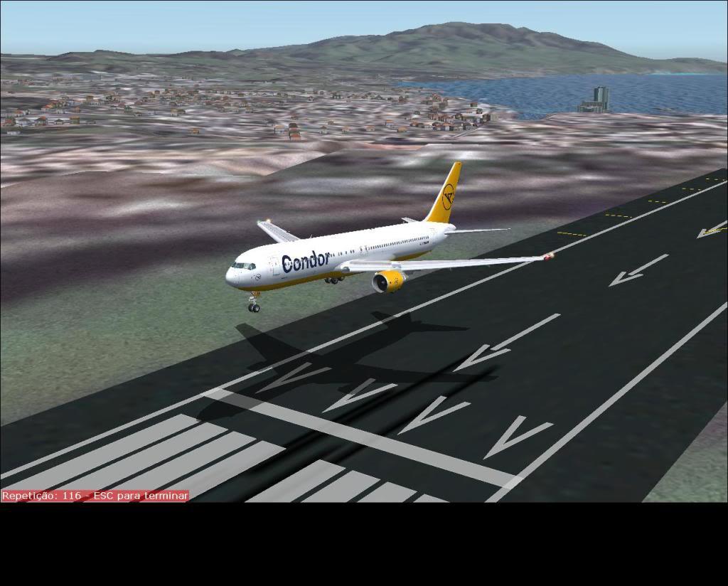 [Fs9] Faro (LPFR)- Ponta Delgada azores (LPPD) com B767-300ER Condor Fs92011-08-0414-57-52-45