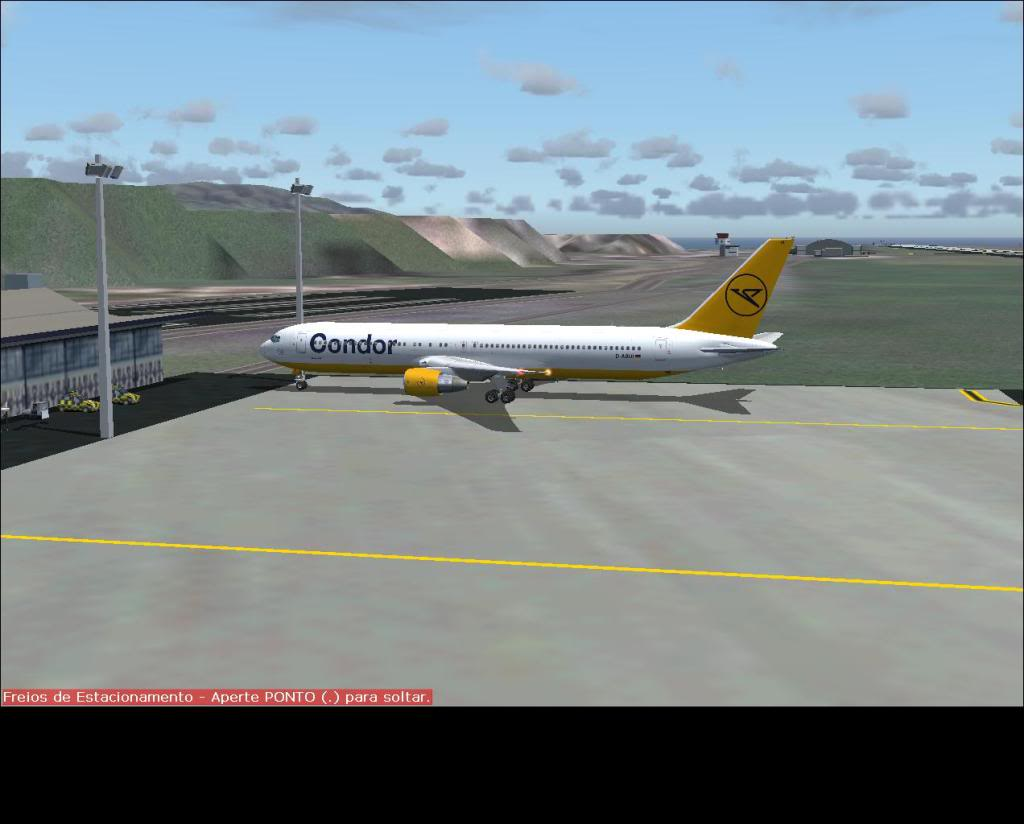 [Fs9] Faro (LPFR)- Ponta Delgada azores (LPPD) com B767-300ER Condor Fs92011-08-0415-02-41-32