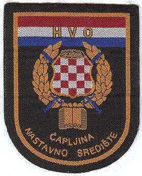 Insignias from Bosnia and Herzegovina (all three sides) HVO