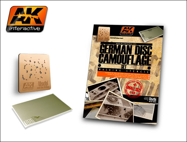 New Products from AK Interactive including F.A.Q.2 158_German_Disc_Camouflage