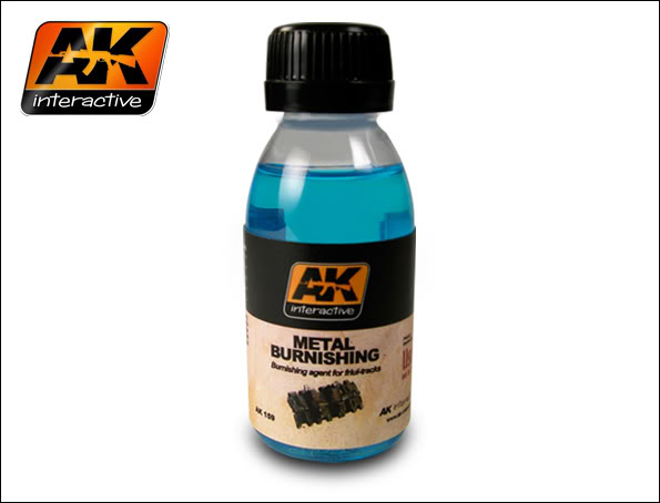 New Products from AK Interactive including F.A.Q.2 159_Metal_Burnishing
