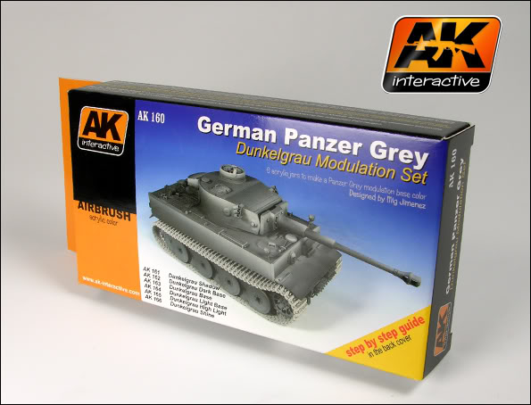 New Products from AK Interactive including F.A.Q.2 160_German_panzer_Grey