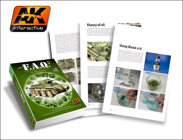 New Products from AK Interactive including F.A.Q.2 FAQ220Ingles