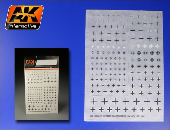 New Products from AK Interactive 10620germancross7248