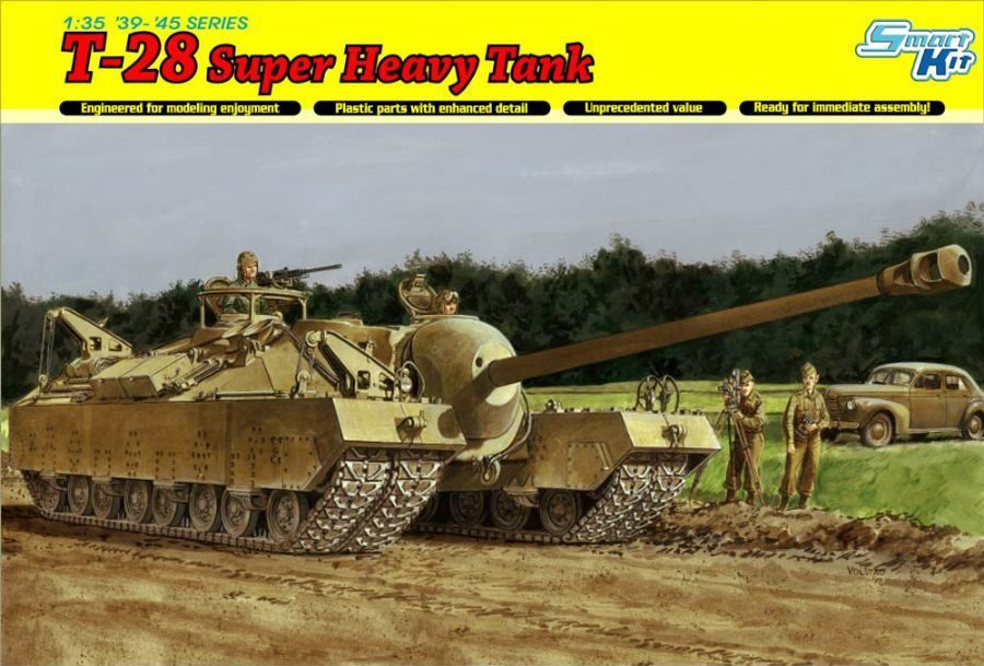 T-28 Super Heavy Tank from Dragon B_DRA6750_00-1