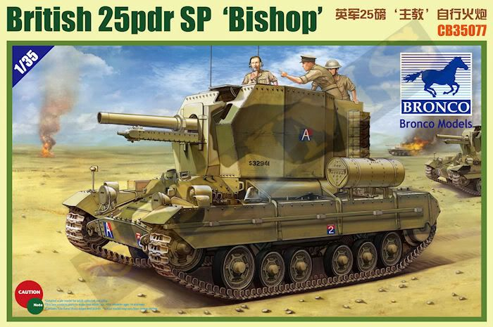 New releases from Bronco Models. CB35077