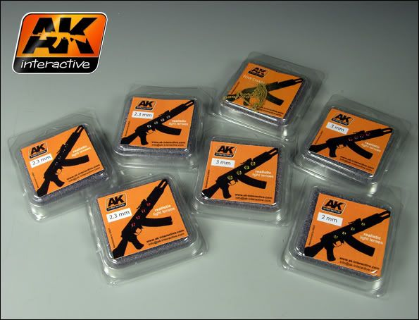 New Products from AK Interactive Lentes201