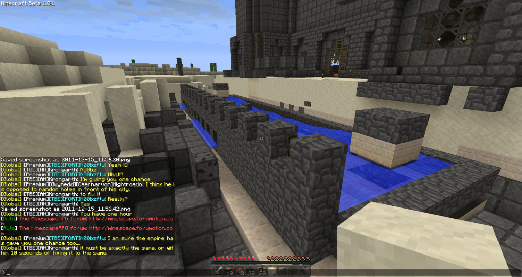 Noobzftw- Massive griefing on my structure 2011-12-15_115707