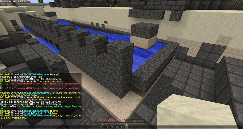 Noobzftw- Massive griefing on my structure 2011-12-15_115841
