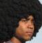 Negro con Afro