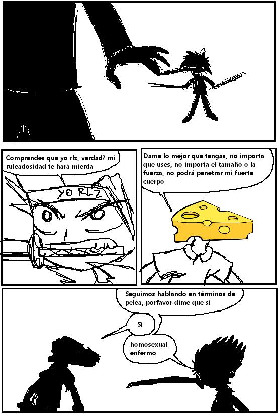 Comic del Pogonforo Capitulo 8- Las Sagas Perdidas Comic1