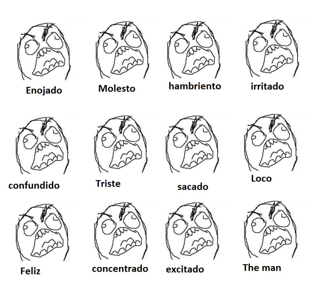 Como reconocer las emociones de The Man... Emocion