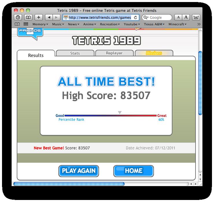 Tetris King Tetris80000