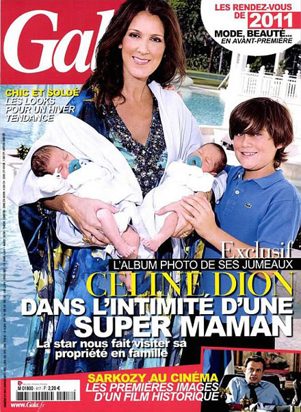 Celine Dion thừa nhận bị trầm cảm sau khi sinh Ce110111