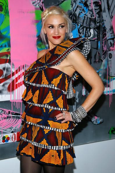 Gwen Stefani quảng cáo cho L'Oreal Ge214111