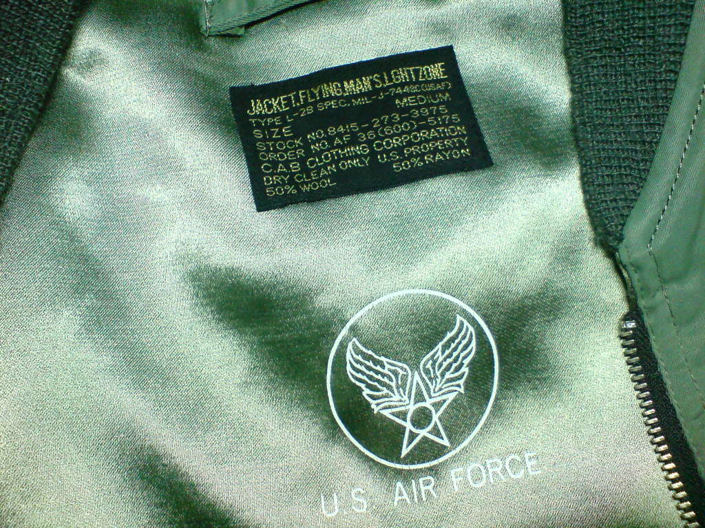 L-2B Flight Jacket DSC01063