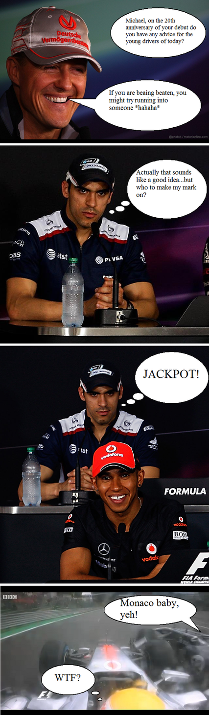 [F1] Lewis Hamilton - Page 39 Revenge