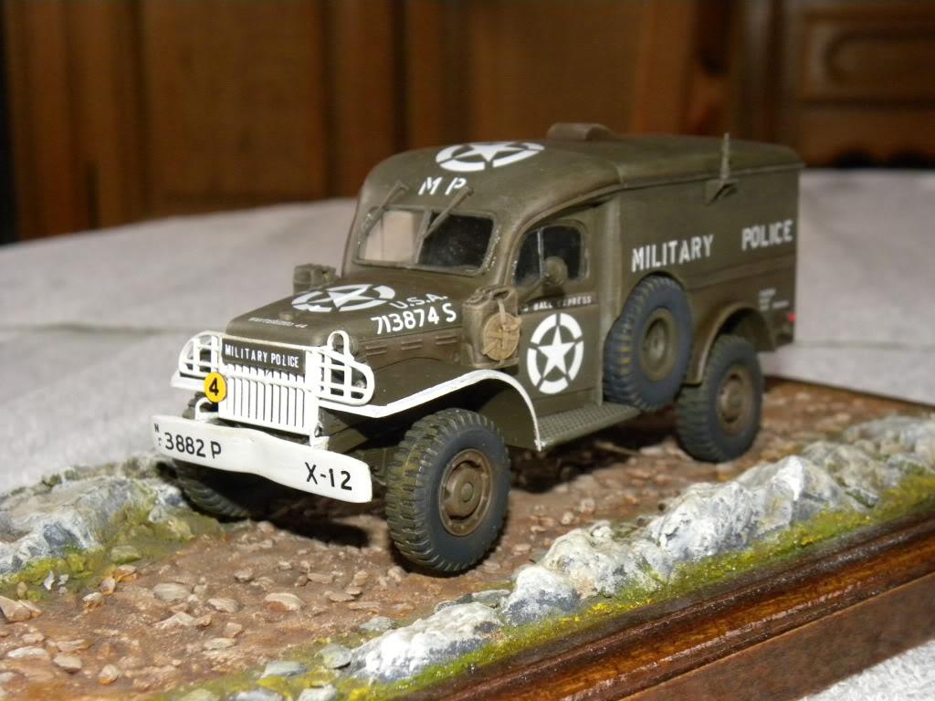 dodge wc 54  military police      italeri  1:35 suite et fin DSCN0590