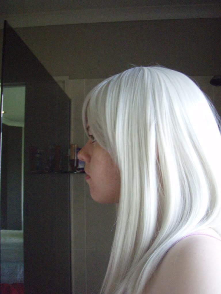 [SELLER] 50cm white wig P2190061