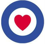 Trollbeads UK Royal Air Force Benevolent Fund Heart Bead 63699eb1