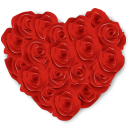 Happy Mother's Day ♥ ℒ♡ⓥℯ  Flowers-Heart-Roses-icon_zpsf618a874