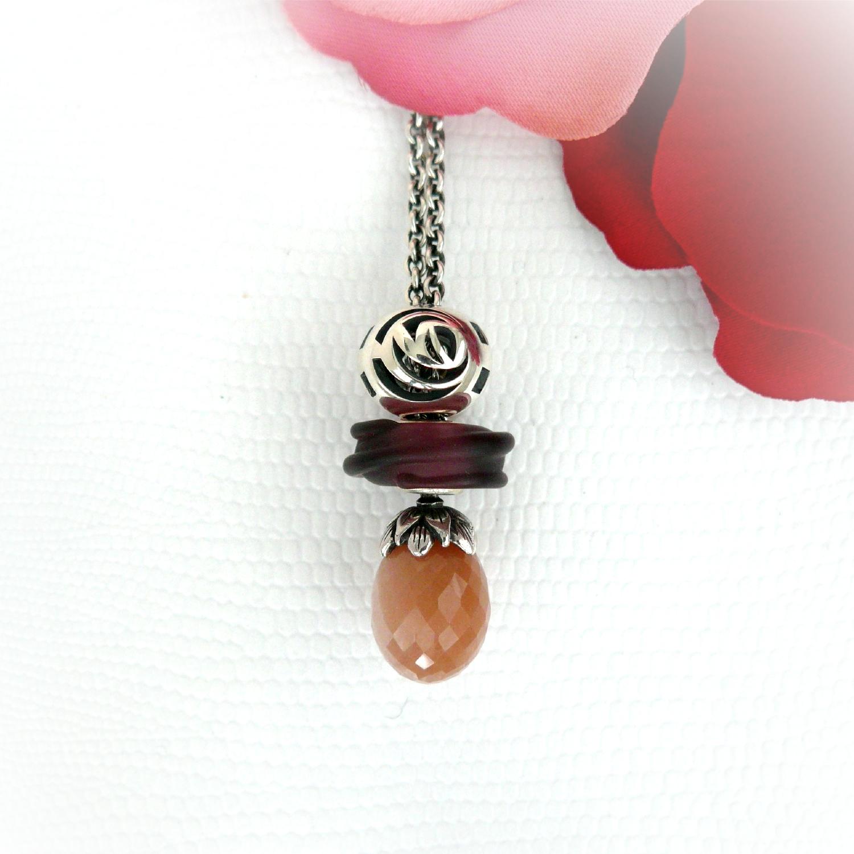 Faerybeads custom order ᏒᎧᏕᏋ and ʋɛʀȶɛɮʀǟɛ bead FBDecoBeadRose