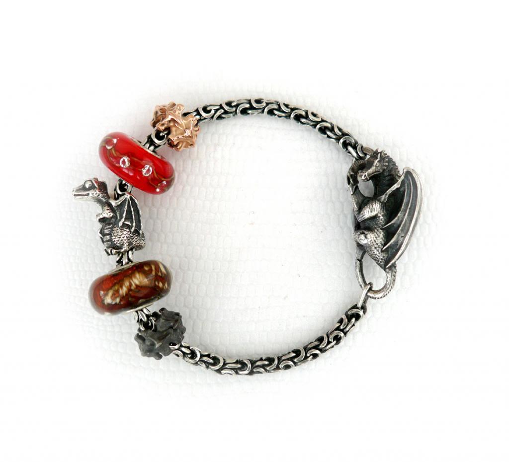 Faerybeads custom order ᏒᎧᏕᏋ and ʋɛʀȶɛɮʀǟɛ bead FBRedVertebraeBracelet_zps33948ed3