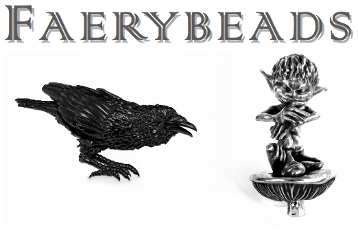 Faerybeads Spring 2014: Odin's Raven and Hobgoblin Puck Faerybeads_2014_zps15629803