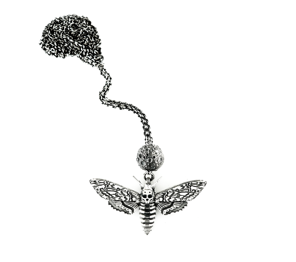 Faerybeads Death's Head Hawkmoth necklace Faerybeads_Deaths_Head_Hawkmoth_Moon_necklace_zpsmyyqqaoo