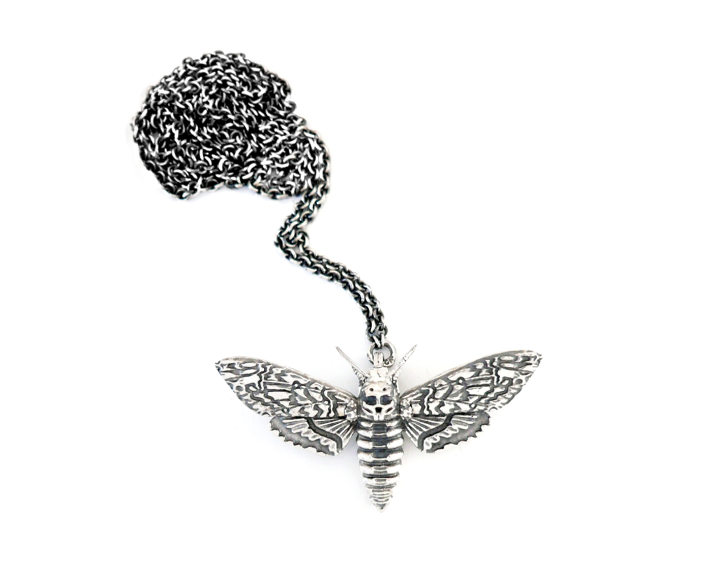 Faerybeads Death's Head Hawkmoth necklace Faerybeads_Deaths_Head_Hawkmoth_zpsgd56c40w