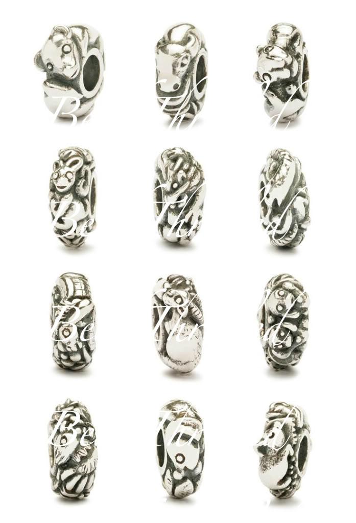 Trollbeads will release limited edition Chinese Zodiac beads BTTBChineseZodiac