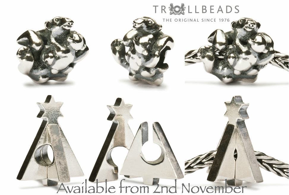 Trollbeads Christmas 2012 release pictures TrollbeadsChristmas2012PolarBearXmasTrees_zps6aaec295