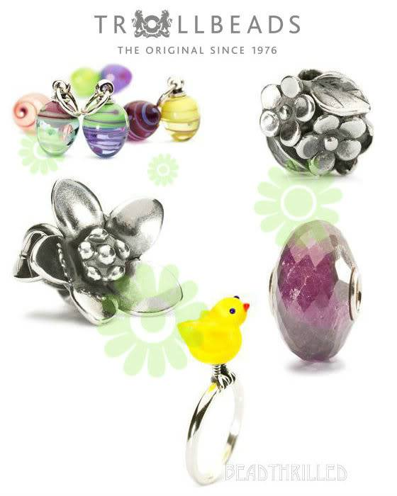 Trollbeads Easter & Mother's Day 2013 release sneak peek TBEasterCollection