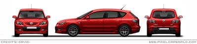 Mazda                       MazdaMPS3