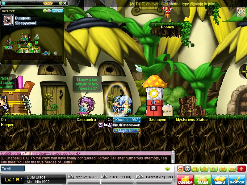 Back in the day? o.o Maple0044