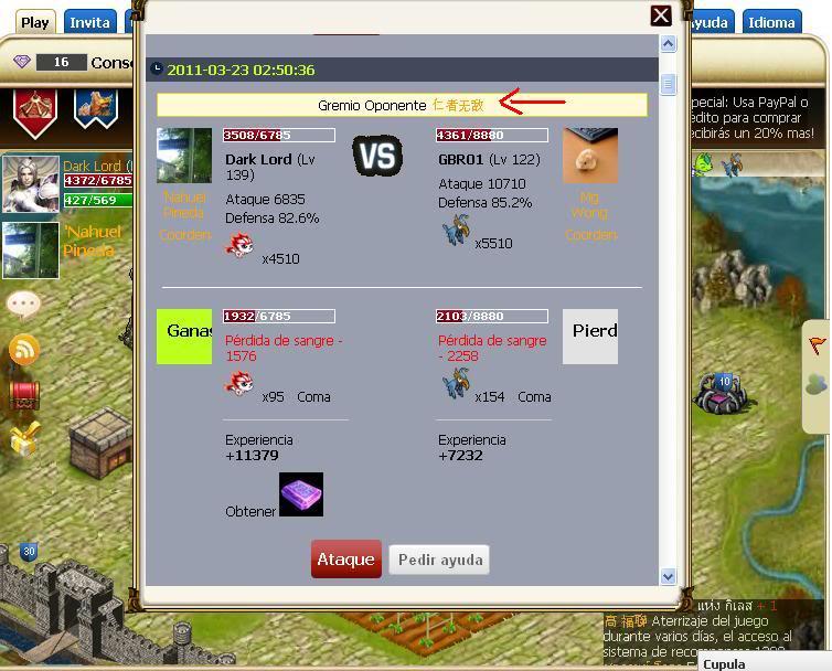 Hero juego RPG de facebook muy bueno Duelo-1