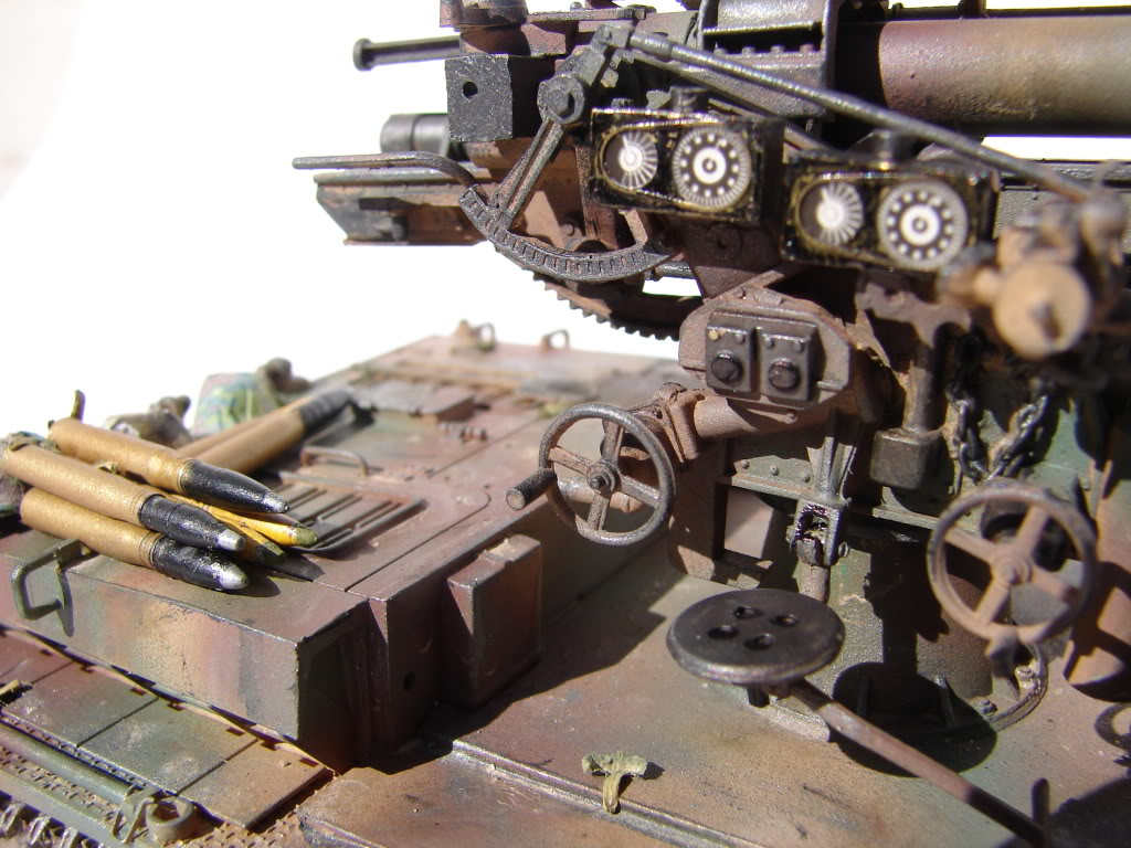 Panzer IV ausf.H with Flak 88 DSC02834