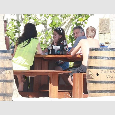 George Clooney & Amal Vacationing In Cabo With Cindy Crawford & Rande Gerber and the boys 18_zps337b0649