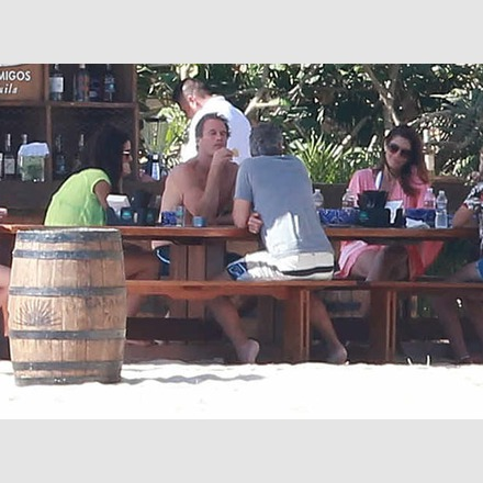 George Clooney & Amal Vacationing In Cabo With Cindy Crawford & Rande Gerber and the boys 1_zpsc492cf39
