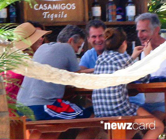 George Clooney enjoys another day in Mexico - but this time his parents join the fun Tumblr_nhbf2b3hTm1tcugf8o2_1280_zpsa43d256d