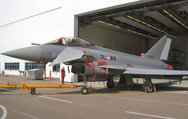 Armée Autrichienne Austrian-Eurofighter