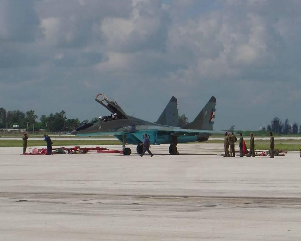 armée cubaine CubaMig29-5
