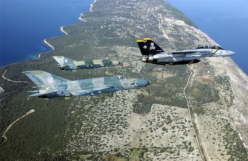 armée Croate CroatiaMig21