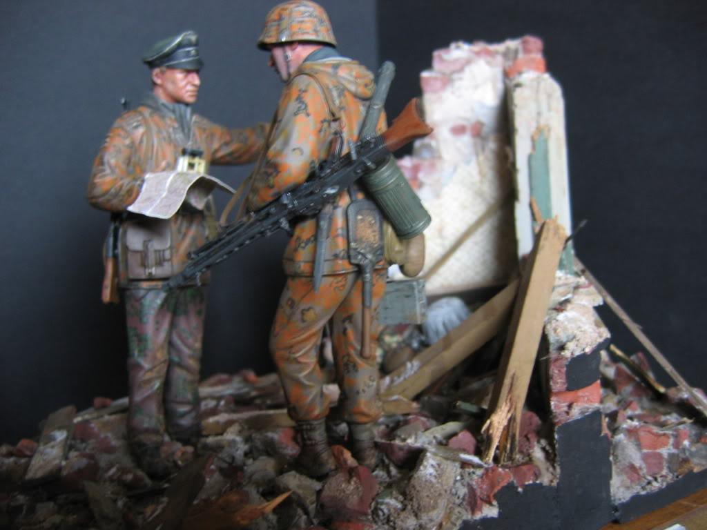 Vignette Ardenne 1944 (figurines DML) 008-1