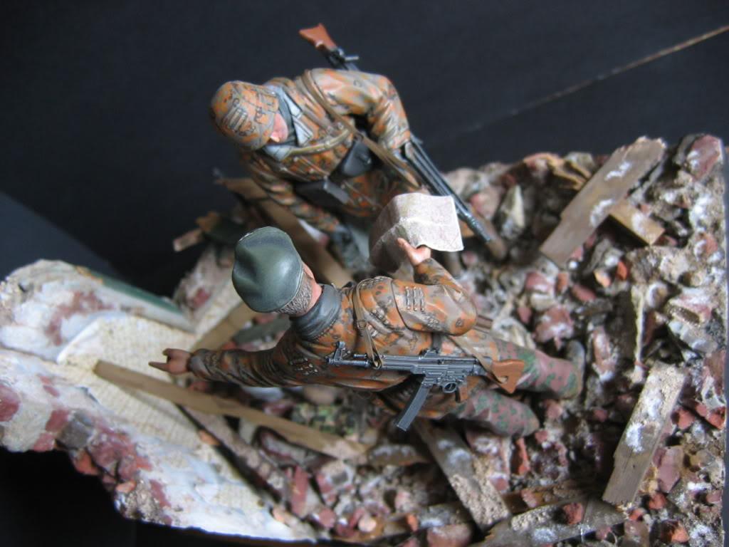 Vignette Ardenne 1944 (figurines DML) 011-1