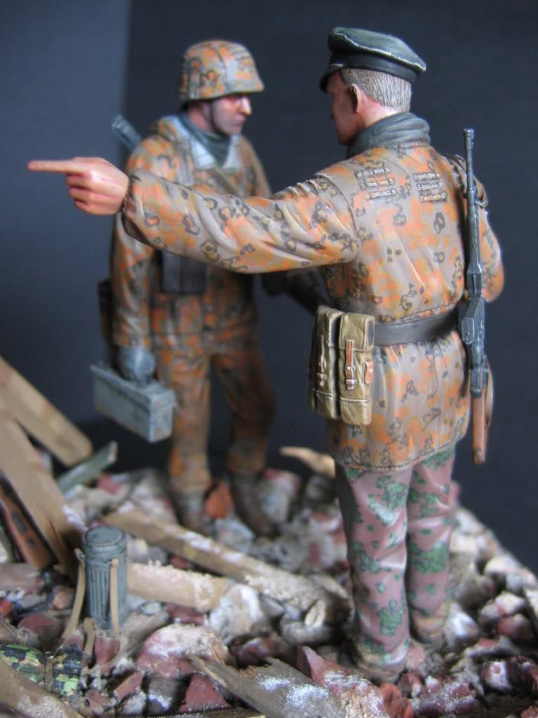 Vignette Ardenne 1944 (figurines DML) 013-1