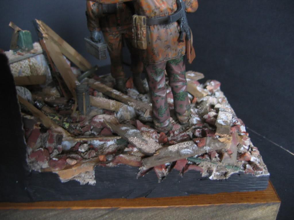 Vignette Ardenne 1944 (figurines DML) 016