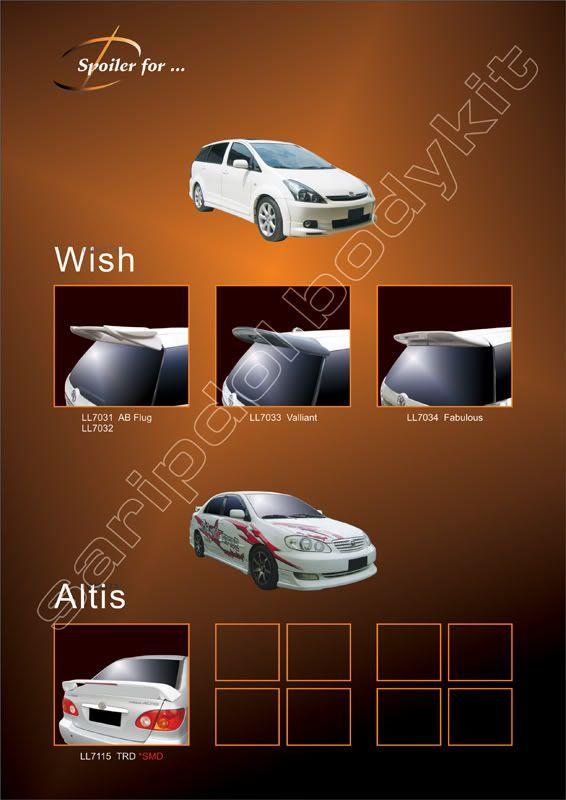 Toyota     WISHALTIS